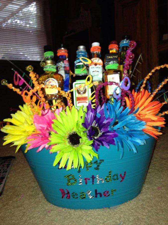 heather's birthday basket